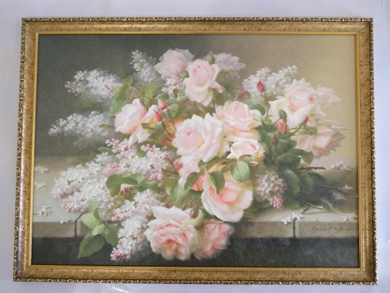 "Картина ""Дикая роза"""