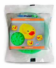 Губка банная для тела детская Mario HighFoam, 1 шт, Чистим-Блистим