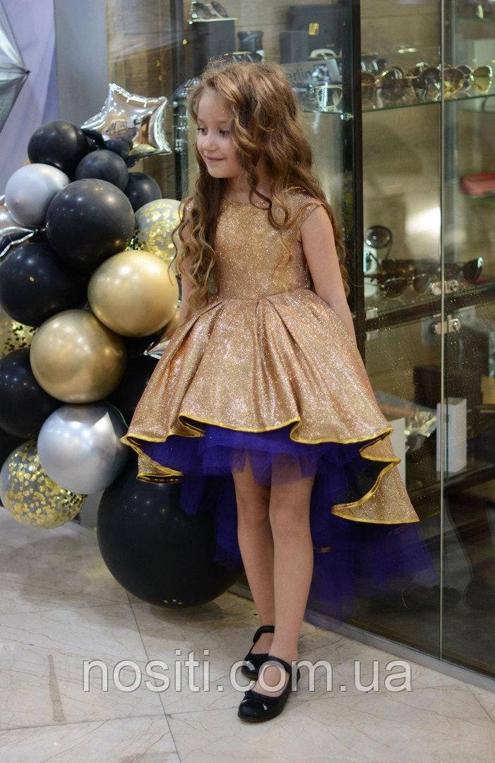 Нарядное выпусное платье для девочек