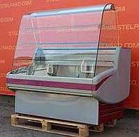 Холодильная витрина кондитерская «Cryspi Gamma» 1.4 м. (Россия), отличное состояние, Б/у, фото 1