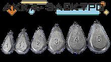 Груз донный Лепесток на петле