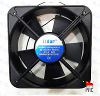 Универсальный осевой вентилятор (квадрат) 200*200*60мм, 220В, 0,31А (Tidar, Китай)