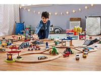 Детская автомобильная деревянная дорога 57 элементов PLAYTIVE® JUNIOR Германия