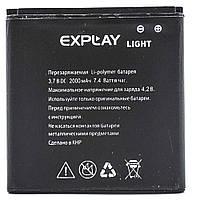 Аккумулятор акб ориг. к-во Explay LIGHT, 2000mAh