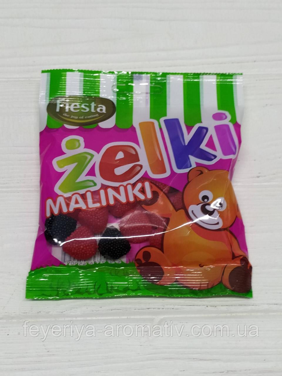 Желейные конфеты Fiesta Zelki Malinki 80гр (Польша)