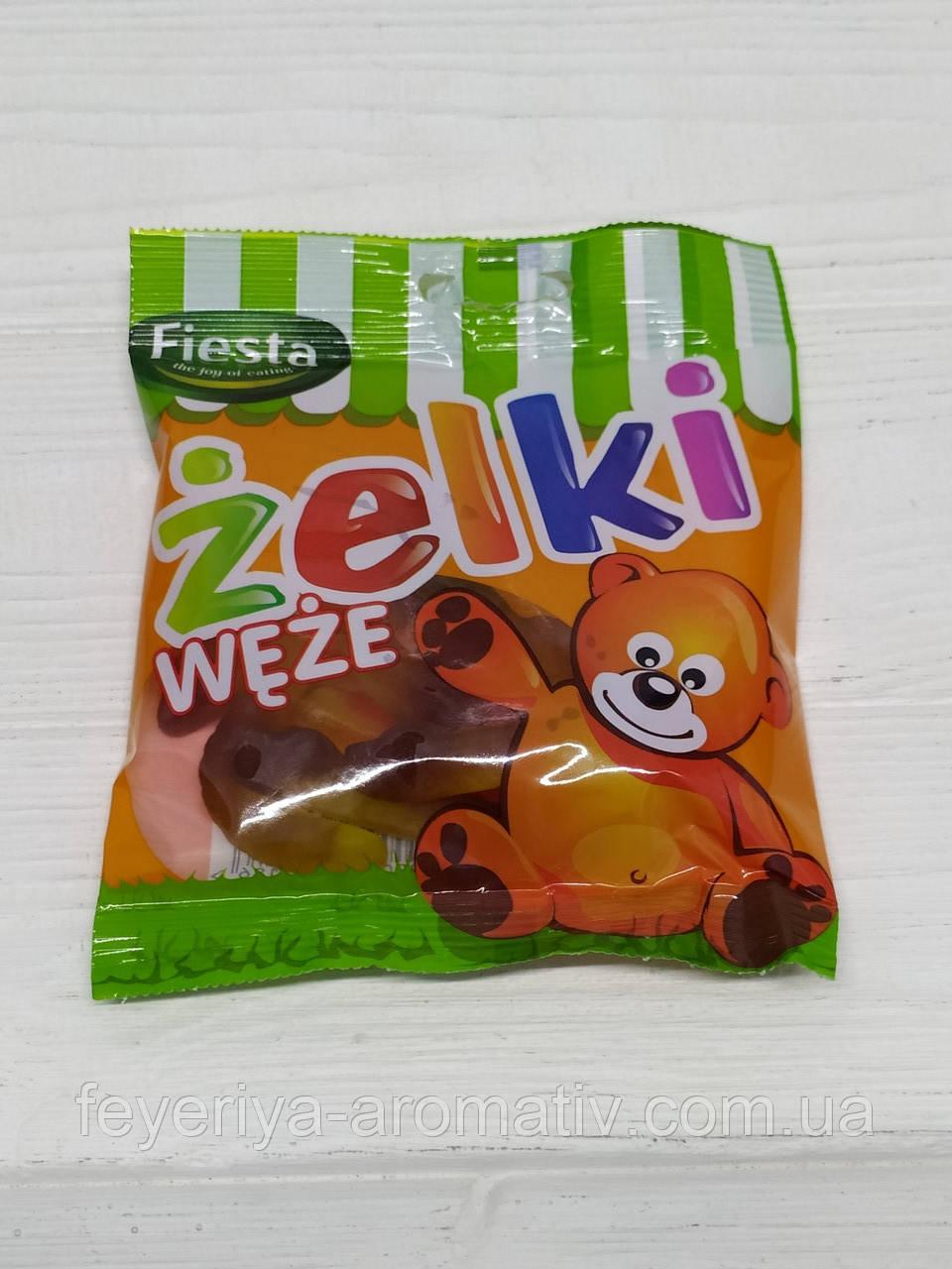 Желейные конфеты Fiesta Zelki Weze 80гр (Польша)