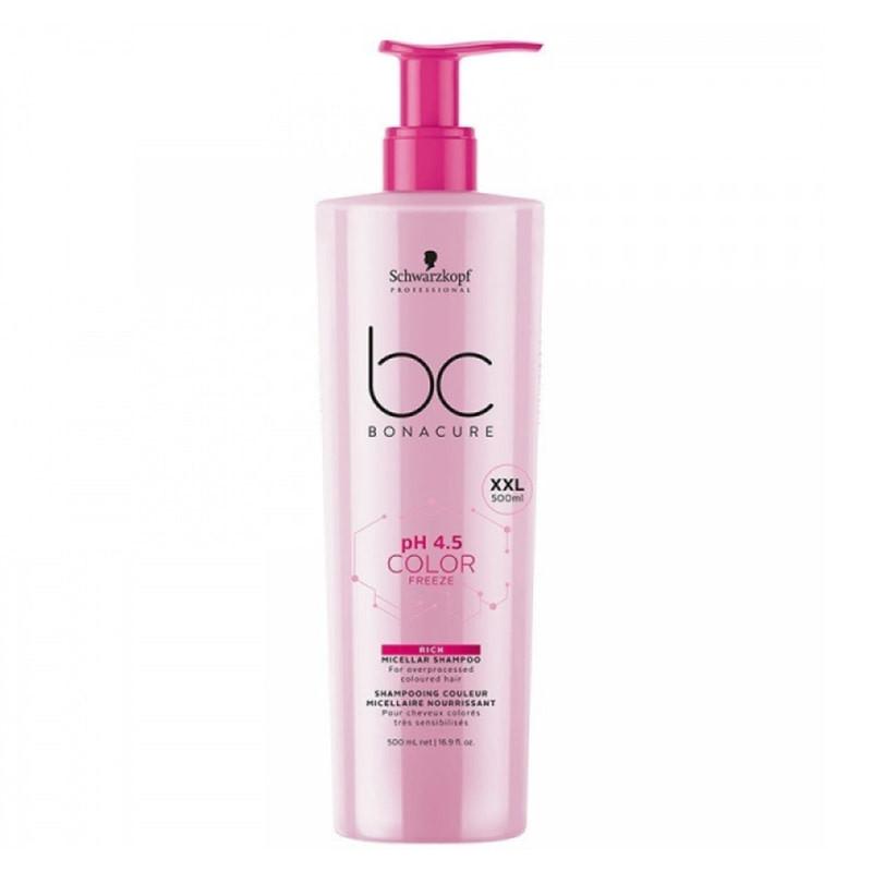 Schwarzkopf Color Rich Micellar Shampoo Мицелярный шампунь для окрашенных волос 500 мл