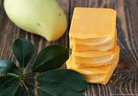 Натуральное мыло ручной работы с маслом манго Манговое