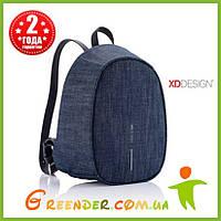 Рюкзак с защитой от карманников XD Design Bobby Elle, джинсовый