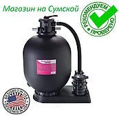Песочная фильтровальная установка для бассейна  Hayward PowerLine 81069 (5 м3/ч, D368). Насос фильтр