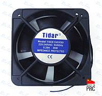 Универсальный осевой вентилятор (квадрат) 150*150*50мм, 220В, 0,29А (Tidar, Китай)