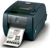 Термотрансферный принтер TSC TTP-247 для печати этикеток, штрих кодов, ценников