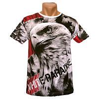 Оригинальная мужская футболка White Paradise - №2254