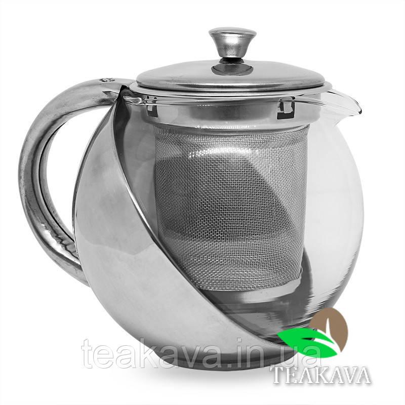 Заварник стеклянный для чая 900 мл