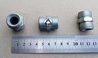 Штуцер соединительный М20*1,5 /М20*1,5 S=22