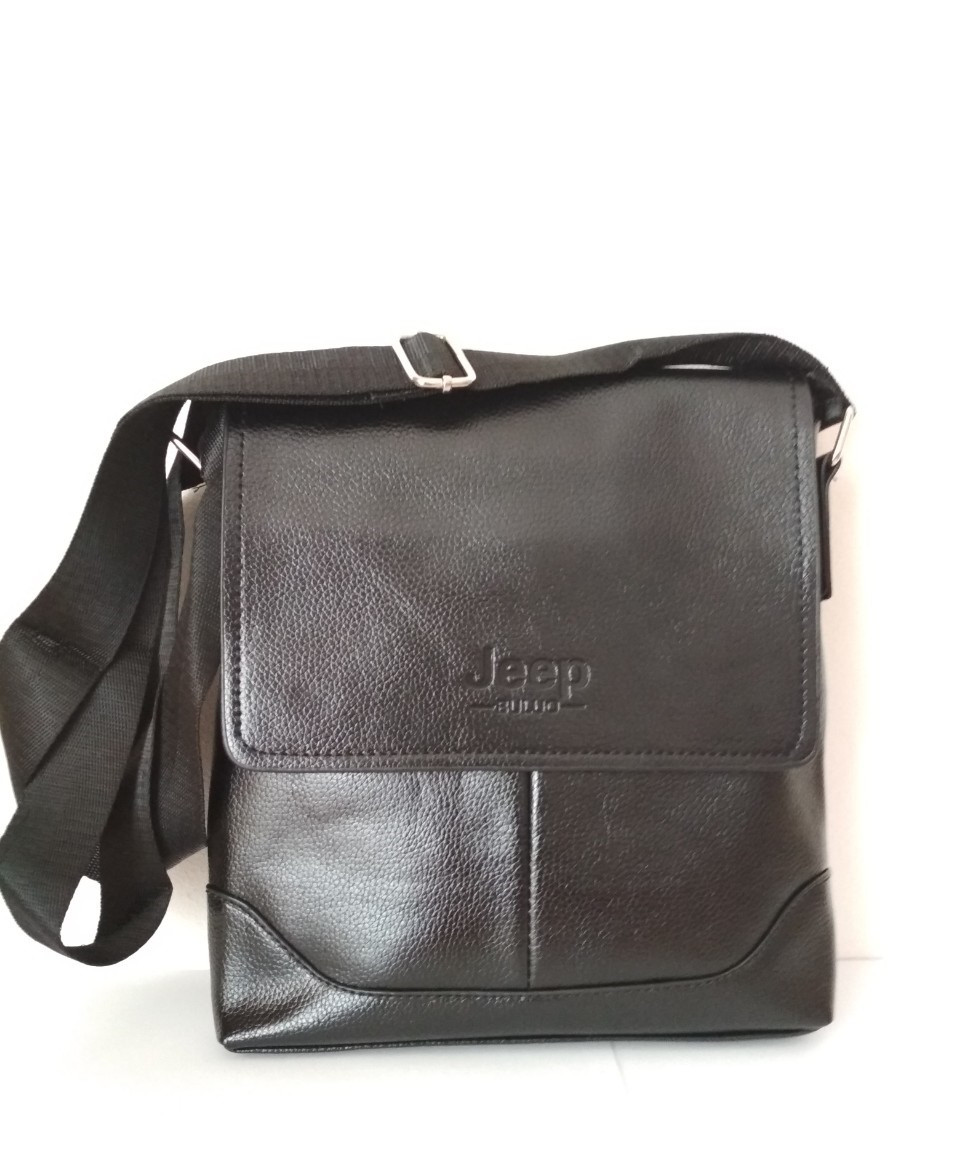 868314d55aa5 Мужская сумка Jeep Buluo черная: продажа, цена в Хмельницком. мужские сумки  и барсетки ...