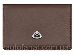 Оригинальная визитница Mercedes-Benz Maybach Business Card Holder, Brown (B66958223)