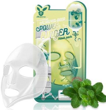Маска с экстрактом центеллы Elizavecca Centella Asiatica Deep Power Ringer Mask Pack