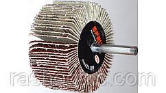 Круг шлифовальный лепестковый с оправкой  КЛО 80*25*6 Р80