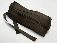 Тесьма брючная 15мм Светло коричневая 25м Украина