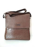 Мужская сумка планшет Jeep Buluo коричневая