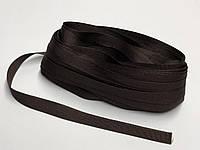 Тесьма брючная 15мм Темно коричневая 25м Украина