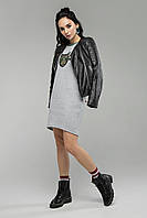 Свитшот Miledi Кот серый (46 размер)