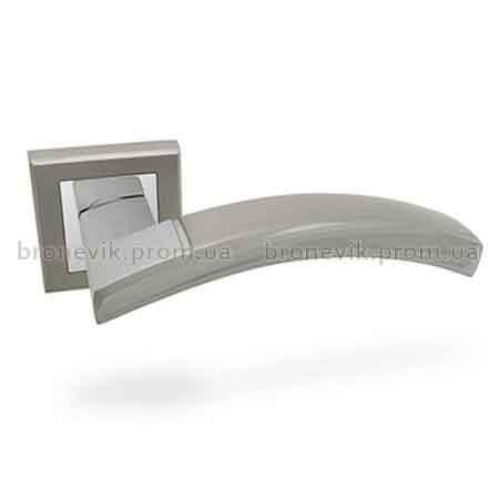 Ручки раздельные APECS Windrose H-18 036- Medina - NIS/CR (Сатин/хром)