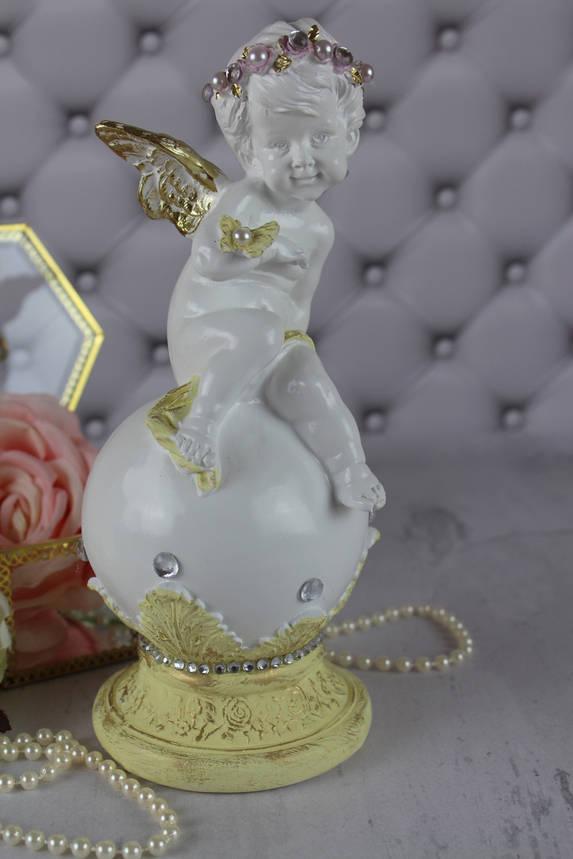 """Ангел """"На шаре с бабочкой"""", пастель, фото 2"""