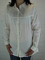 Рубашка женская D 8013 белая