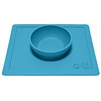 Миска-коврик голубой EZPZ США