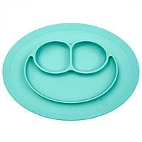 Тарелка-коврик голубой EZPZ США