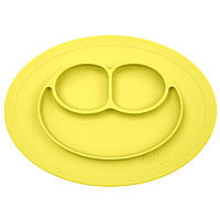 Тарелка-коврик жолтый EZPZ США