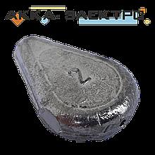Груз донный Лепесток скользящий 2ун (57г)   25шт