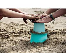 """Ігровий набір """"Будуємо замки з піска та снігу """"ALTO""""(колір зелений+блакитний+помаранчевий), фото 3"""