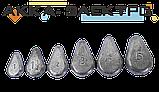 Груз донный Лепесток скользящий 3ун (85г)   25шт, фото 2