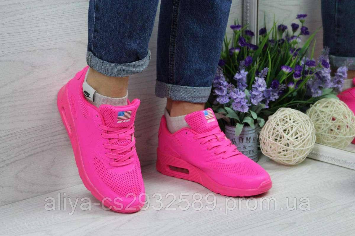 Кроссовки женские ярко розовые Nike Air Max Hyperfuse 4672