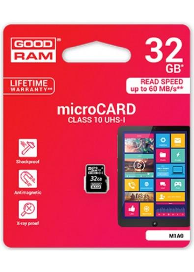 Карта памяти Goodram MicroSDHC 32 GB Class 10