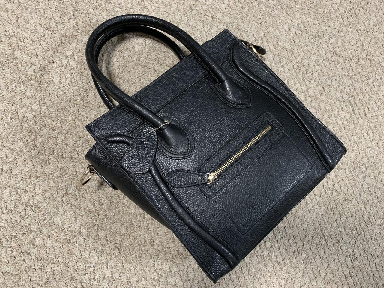 Женская кожаная сумка под Celine 3А класса (Селин) арт. 92-02