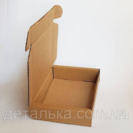 Самосборные картонные коробки 140*140*30 мм., фото 2