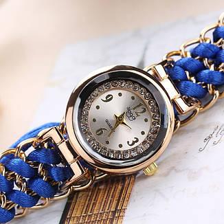 """Жіночі наручні годинники """"Sloggi"""" (синій ремінець), фото 2"""