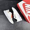 Мужские кроссовки белые с оражевым Nike Free Run 5.0 7674, фото 5