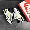 Мужские кроссовки белые с салатовым Nike Air Max 7690, фото 5
