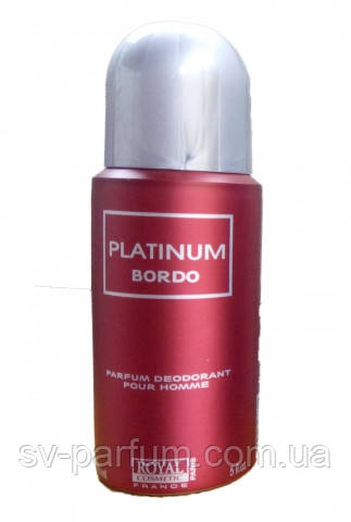 Дезодорант мужской Platinum Bordo 150ml