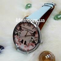 Женские часы LVPAI Голубой ремешок