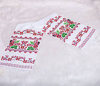 Вышитый рушник (ручная вышивка)