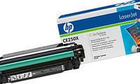 Лазерный картридж HP 504x CLJ CM3530/ CP3525 Black (CE250X) оригинальный, фото 1