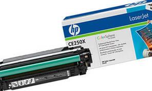Лазерный картридж HP 504x CLJ CM3530/ CP3525 Black (CE250X) оригинальный