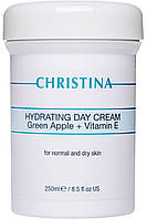 Увлажняющий крем Christina с яблоком и вит Е для нормальной и сухой кожи 250мл