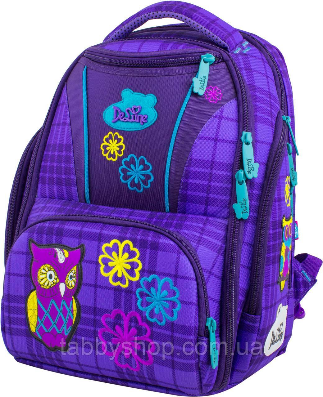 Ранец школьный ортопедический DeLune 8-108 + сумка для обуви